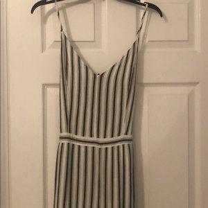 Long sleeveless jumpsuit- linen